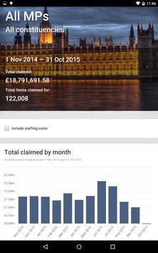 MPs' Expenses apk screenshot