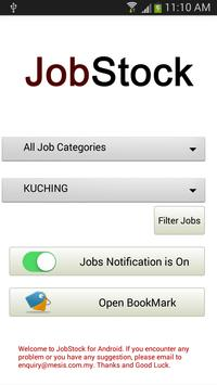 JobStock For Android poster