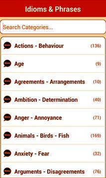 Idioms and Phrases apk screenshot