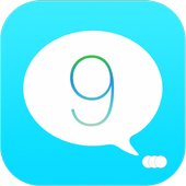 SMS iMessenger OS9 for Android icon