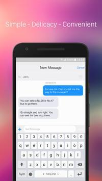 iMessenger: Messenger OS10 poster