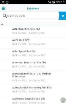 Automechanika Kuala Lumpur apk screenshot