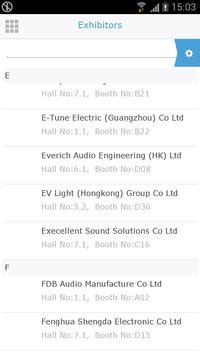 Prolight+Sound Guangzhou apk screenshot