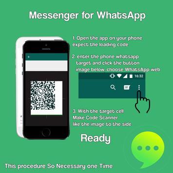 Messenger for WhatsApp poster