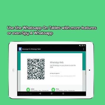 Messenger for WhatsApp apk screenshot
