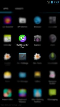 Call Recorder Fast poster