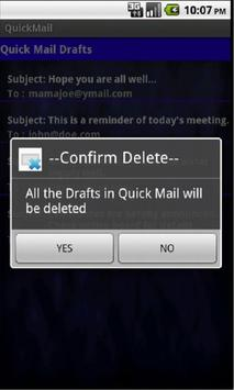 Quick Mail apk screenshot