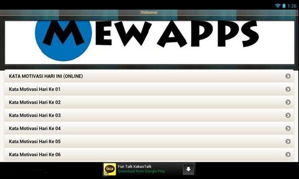 Kumpulan Kata Motivasi Share apk screenshot