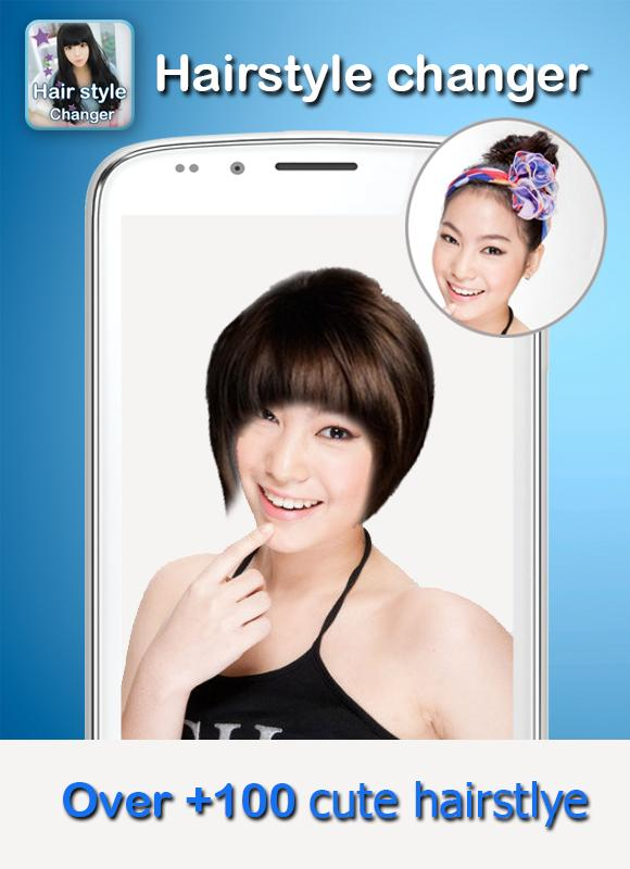 free photo editor change hair style wig hair edit hairstyle change apk free 5409