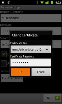 Secure EAS apk screenshot