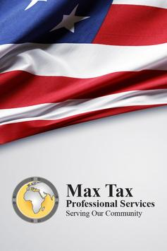 MAX TAX PROFESSIONAL SERVICES poster