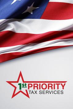 1st PRIORITY TAX SERVICE poster