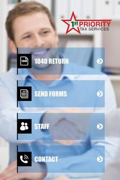 1st PRIORITY TAX SERVICE apk screenshot
