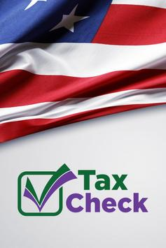 TAX CHECK poster