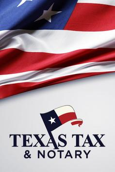 TEXAS TAX & NOTARY poster