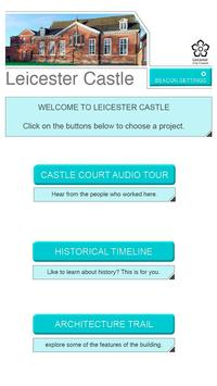 Leicester Castle - Discover poster