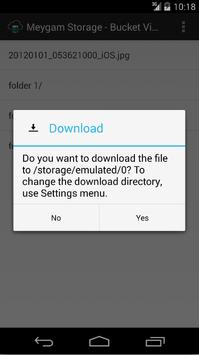 Meygam Storage apk screenshot
