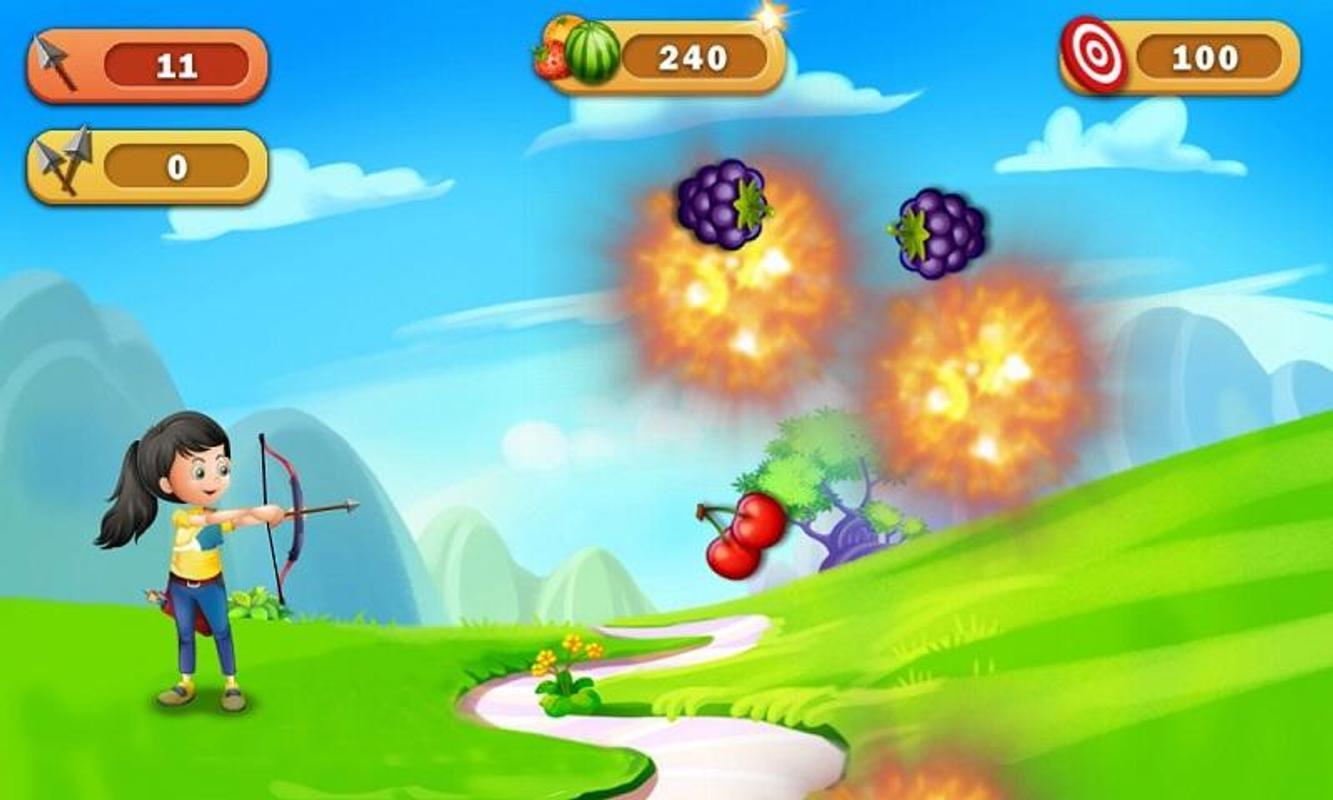 Fruit shoot game -  Fruit Shoot Archery Apk Screenshot