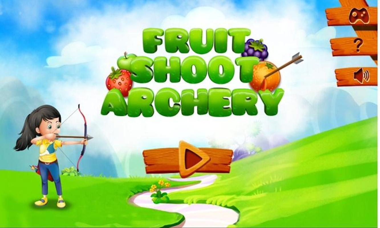 Fruit shoot game - Fruit Shoot Archery Poster