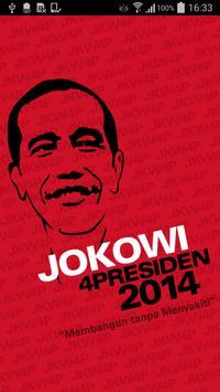 Jokowi4Presiden poster