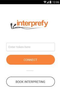 Interprefy Connect poster