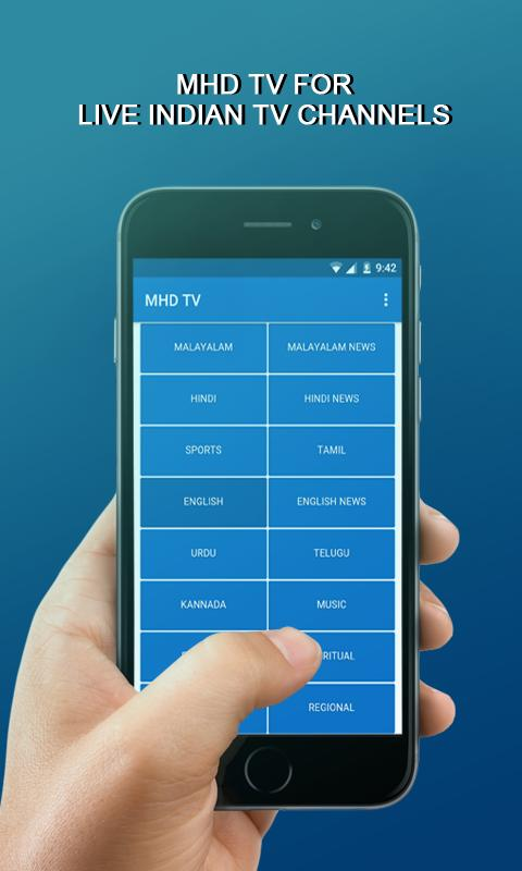 ... MHD TV: MOBILE TV, LIVE TV , fast, free and save your internet data