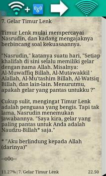 Kisah Lucu Nasruddin apk screenshot