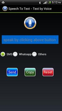 Speech to Text - Text by Voice poster