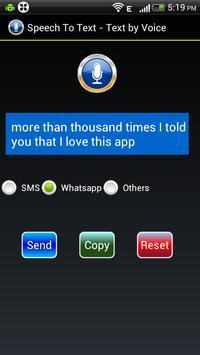 Speech to Text - Text by Voice apk screenshot