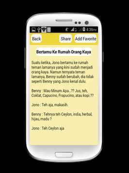 Funny Stories Humor apk screenshot