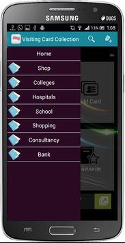 Visiting Card Collection apk screenshot