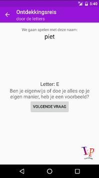 Ontdekkingsreis door letters apk screenshot