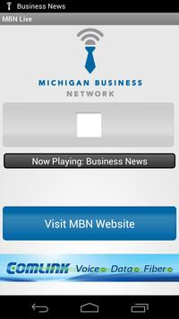 Michigan Business Network poster