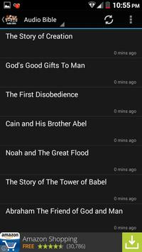Childrens Audio Bible Ebook apk screenshot