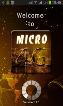 Micro4G poster
