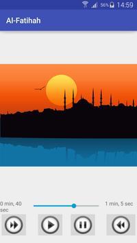 Al-Fatihah Surah apk screenshot