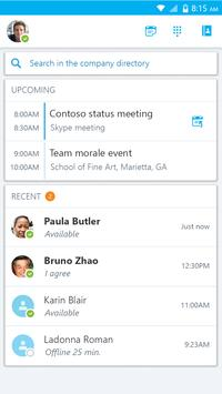 Skype for Business for Android apk screenshot