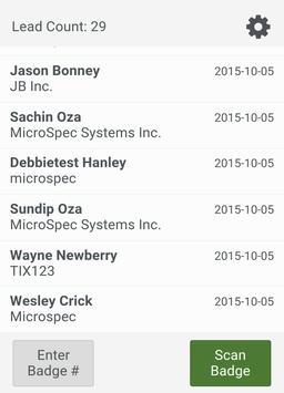 Leads123 By MicroSpec apk screenshot