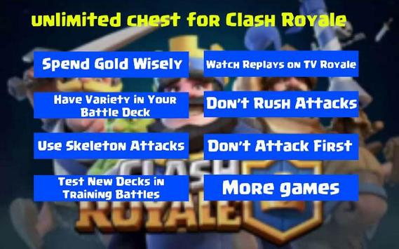 Nolimit Chest for Clash Royale apk screenshot