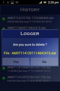 Call Logger apk screenshot