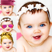 Face Maker Sweet Baby Girl icon