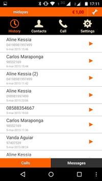 Midayas Express Voip apk screenshot