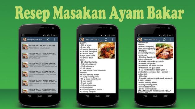 Resep Ayam Bakar poster