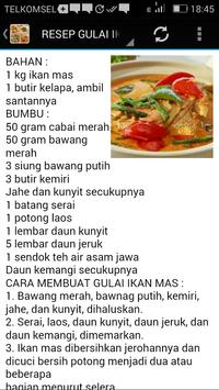 Resep Masakan Gulai apk screenshot