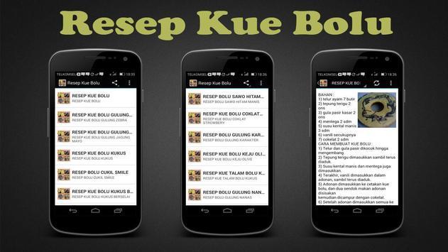 Resep Kue Bolu poster