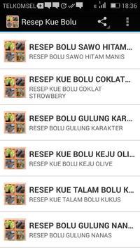 Resep Kue Bolu apk screenshot