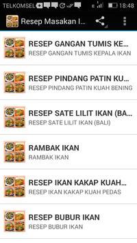 Resep Masakan Ikan apk screenshot