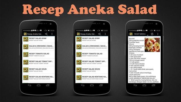 Resep Aneka Salad poster