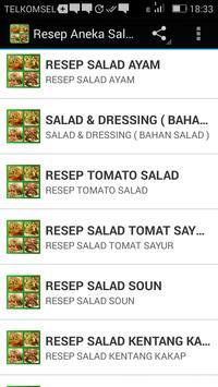 Resep Aneka Salad apk screenshot