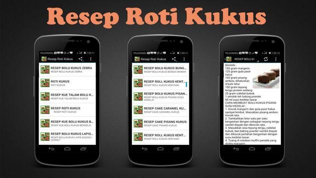 Resep Roti Kukus poster